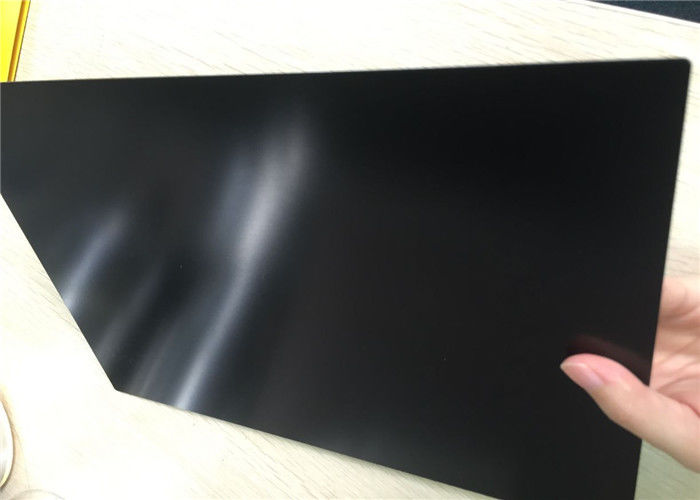 Black hard Anodized Aluminum Plate 6061 For Electrical Insulation 0.3-20mm Thickness