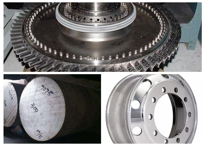 High Strength 7075 Billet Aluminum , Alloy 7075 Forged Aluminum AlZn5 5MgCu
