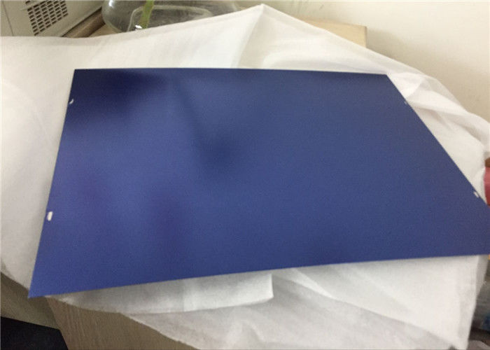 6061 7075 Glossy Hard Anodized Aluminum Plate 0.3mm 0.5mm Thick
